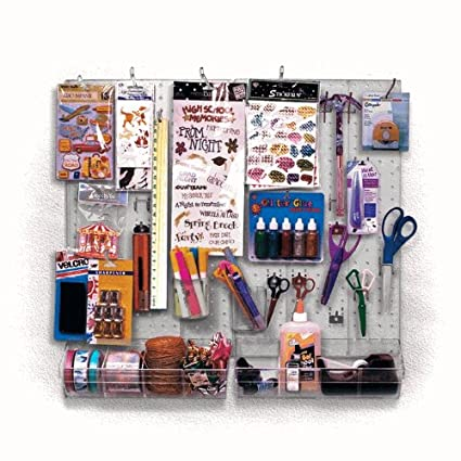 Amazon Craft Center And Scrapbook Organizer Clear Frosted