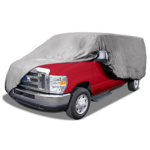 Best Budge Max Van Cover Fits Mini-Vans up to 18 feet, VMX-1 – (Endura Plus, Gray) (online)