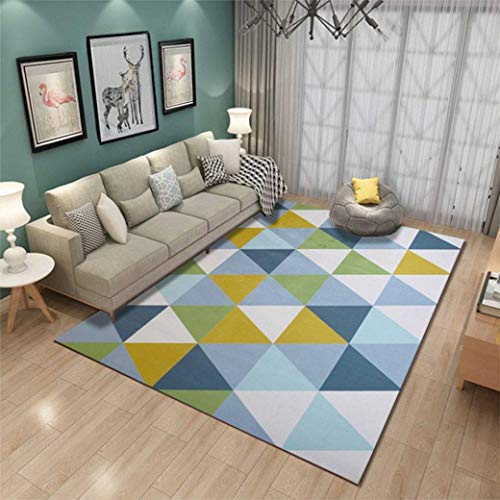 Soft Geometric Pattern Carpet Large Size Home Area Rugs for Living Room Kids Bedroom Floor Supplies