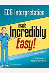 ECG Interpretation Made Incredibly Easy (Incredibly Easy! Series (R)) Paperback