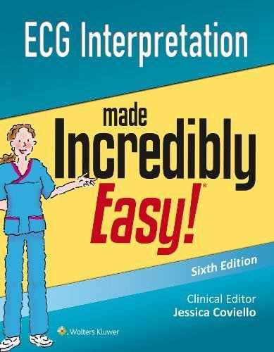 ECG Interpretation Made Incredibly Easy (Incredibly Easy! Series®) from imusti