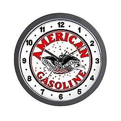 CafePress American Gasoline Unique Decorative 10 Wall Clock
