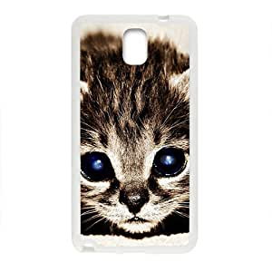 Beautiful Cute Cat With Blue Eyes White Phone Case for Samsung Galaxy Note3