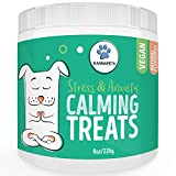 KarmaPets Calming Treats for Dogs - Anxiety Relief | Organic Vegan Dog Supplement | Soft Chews w/Valerian Root for Separation, Thunder Storms, Stress, Fear, Travel, Barking+ Larger Image
