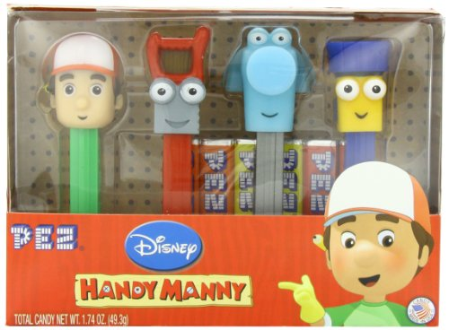Price comparison product image Handy Manny PEZ 4-Pack