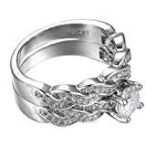 2PCs Rings,Hemlock Women Lovers Rings Valentine's