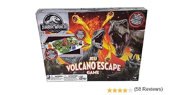 Cardinal Industries 6044456 Jurassic World Volcano Escape Game: Amazon.es: Juguetes y juegos