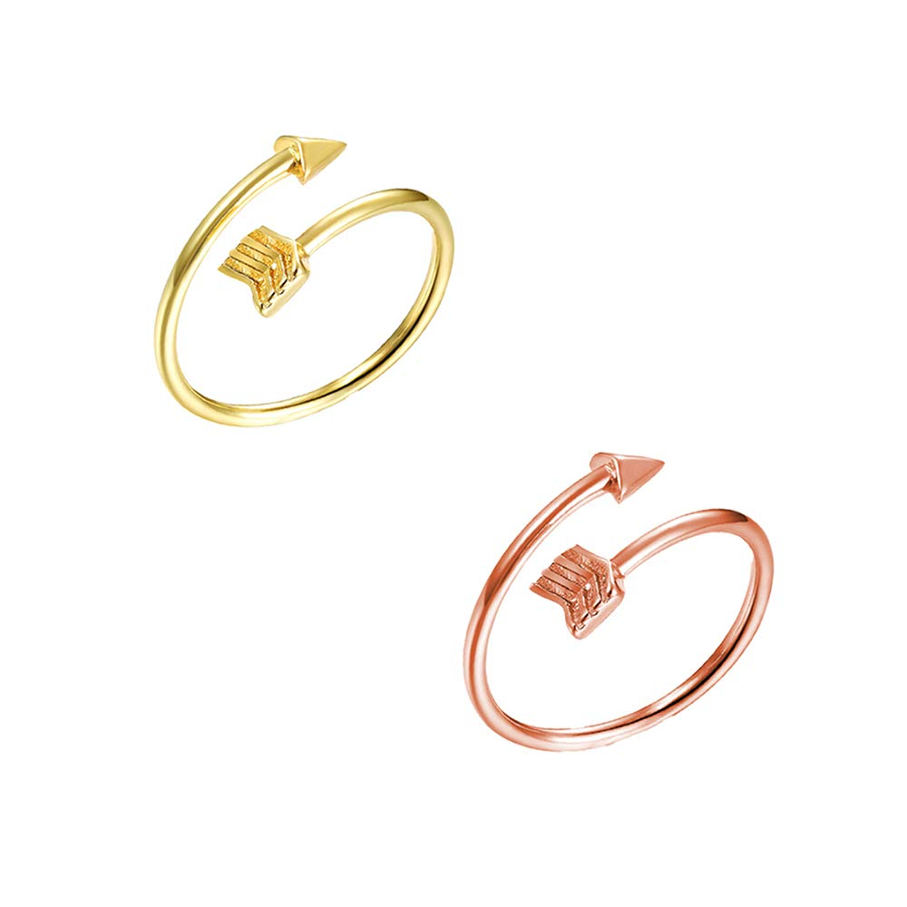 choice of all Womens Adjustable Arrow Ring Cute Toe Ring for BFF Friends Teen Girls