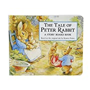 Kids Preferred Beatrix Potter The Tale of Peter Rabbit Board Book, 6.25