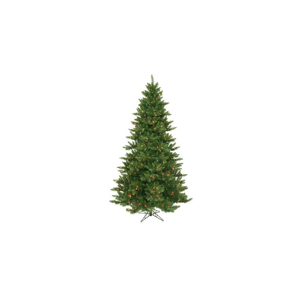 7.5 Pre Lit Full Camdon Fir Artificial Christmas Tree   Multi Color Lights