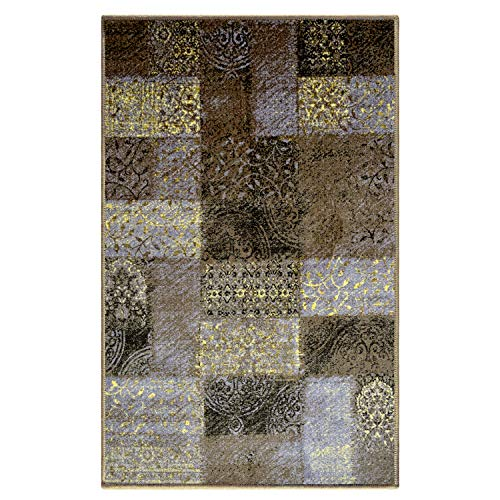 Blue Nile Mills Digitally Printed, Low Maintenance, Affordable and Fashionable, Non-Slip Hadley Area Rug, 5 x8