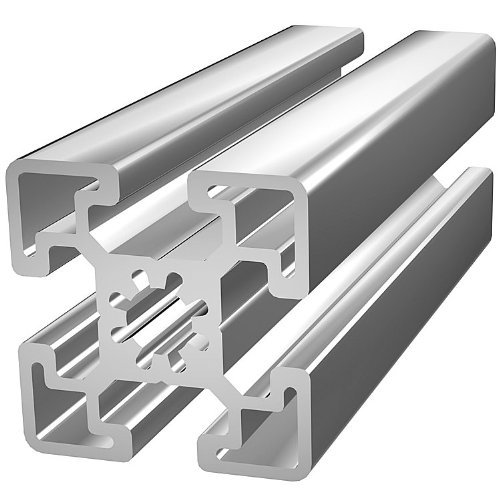 80/20 Inc., 45-4545, 45 Series, 45mm x 45mm T-Slotted Extrusion x 2440mm