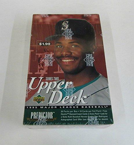 1995 Upper Deck Baseball Series 2 Box (Retail) (36/10) ()