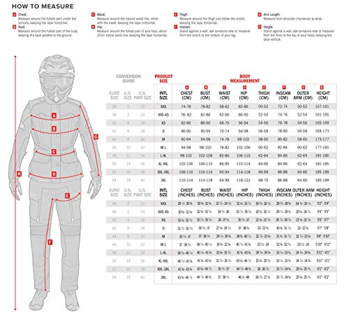 Alpinestars 3214718-1039-XL - chamarra para mujer (talla XL), color negro y rosa