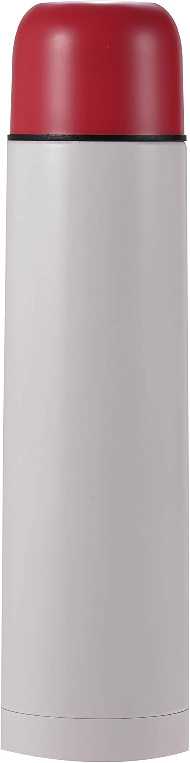 Cressi Unisex-Adult Stainless Steel Thermal Flask 1 L Sport-Thermoflasche aus Edelstahl