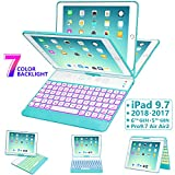 Best Ipad Case With Keyboards - iPad Keyboard Case 9.7 for iPad 2018 Review