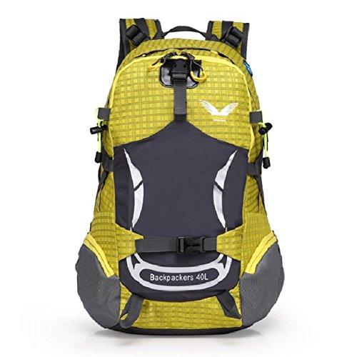 shoulder capacity male backpack outdoor bag female large backpack wear amp;J bag practical travel belt waterproof and adjustable liter sports 40 mountaineering ZC E general IBX0zwX