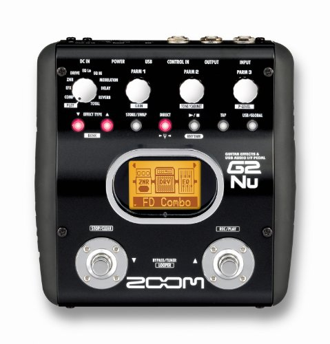 Zoom ZG2NU Guitar Multi Effects Pedal 1