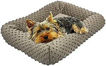 BV Pet Padded Plush Dog Bed, Kennel and Crate Mattress (24