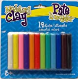 (US) Modeling Clay ~ 12 Sticks ~ Assorted Colors ~ Mold It! Shape It!