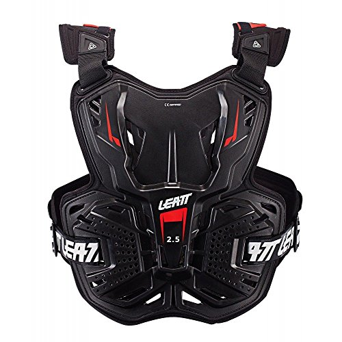 Protector Roost Guard (Leatt Light Hard Shell Chest Protector Roost Deflector - Compatible with Leatt Neck Braces (Black))