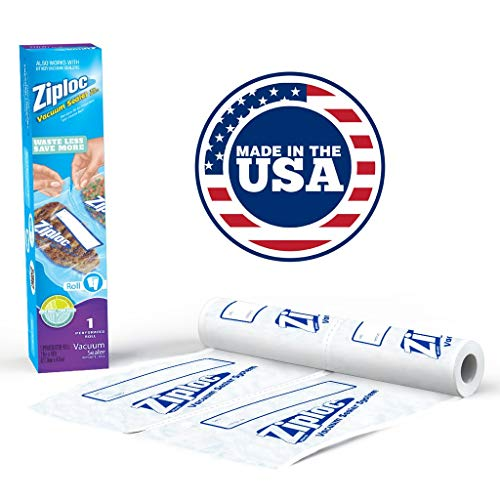 """Perforated 11"""" x 16′ Roll, Vacuum Sealer Roll Refill, 1 Pack"""