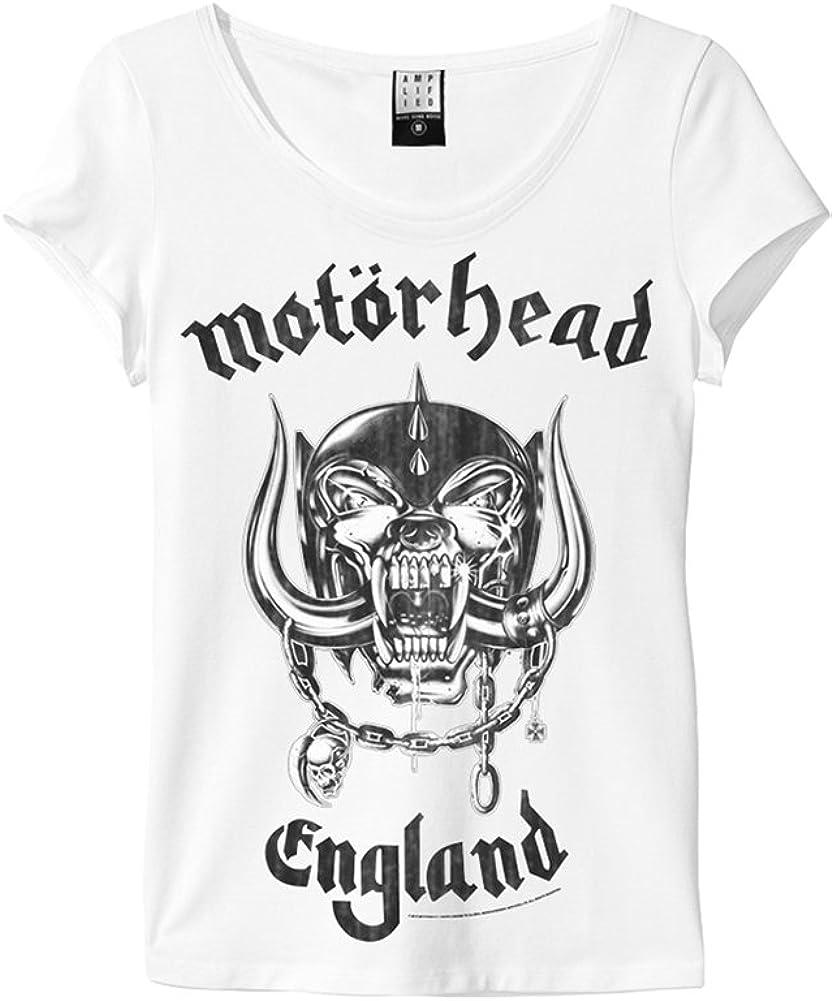 Amplified Damen T-Shirt Einfarbig