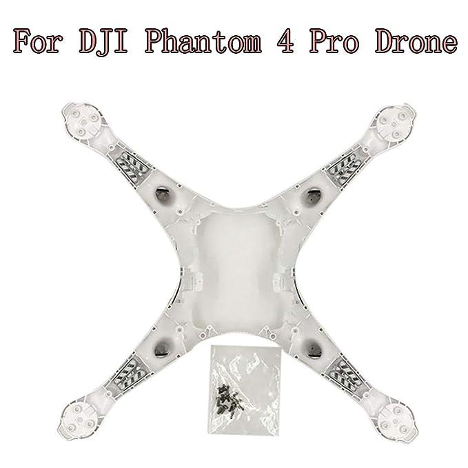 Detrade - Carcasa de plástico para dji Phantom 4 Pro Drone, Blanco ...