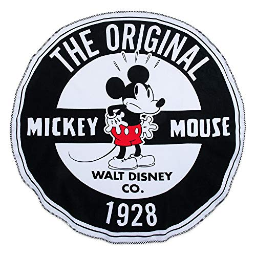 Round Mickey Mouse - Disney Mickey Mouse Round Beach Towel - Oh My Disney Multi