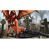 Artists of Magic Premium MTG Playmats: HELLION'S HAVEN w/Artwork by MONTE M. MOORE