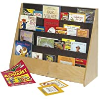 Steffy Wood Products Big Book Storage Unit