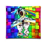 Noble Shop Pink Floyd Wall The Division Bell Throw Pillow Cushion Cover