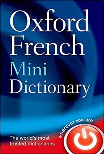 Amazon Oxford French Mini Dictionary 9780199692644 Oxford