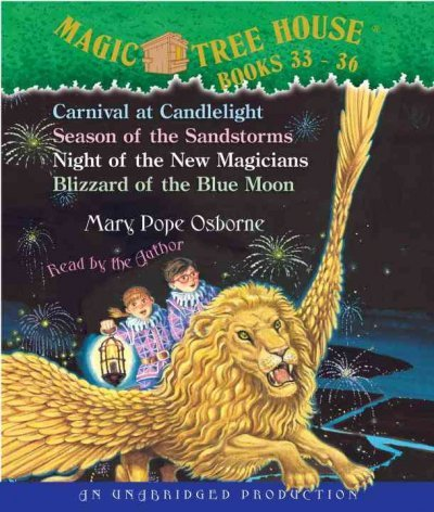 Magic Tree House Books 33-36: Carnival at Candlelight / Season of the Sandstorms / Night of the New Magician / Blizzard of the Blue Moon (Magic Tree House Blizzard Of The Blue Moon)