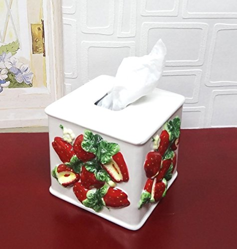 3D Strawberry Tissue Box Cover from A.C.K. Trading Co.