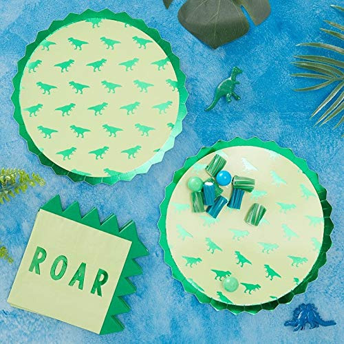 Dinosaur Party Supplies Dinosaur Birthday Decorations Kids Birthday Party Paper Cups Dinosaur Decorations Disposable Cups Pak of 16 9 Oz.