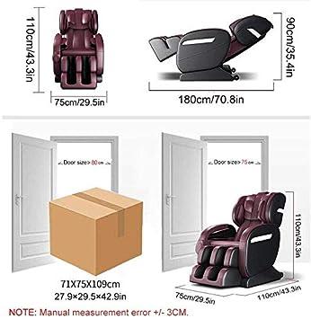 Armchair Silla eléctrica Masaje, Profesional Relax sillón de ...