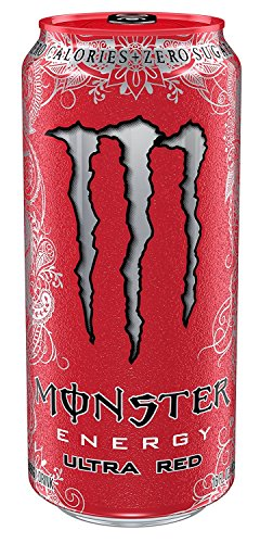 red monster energy drink case - 4