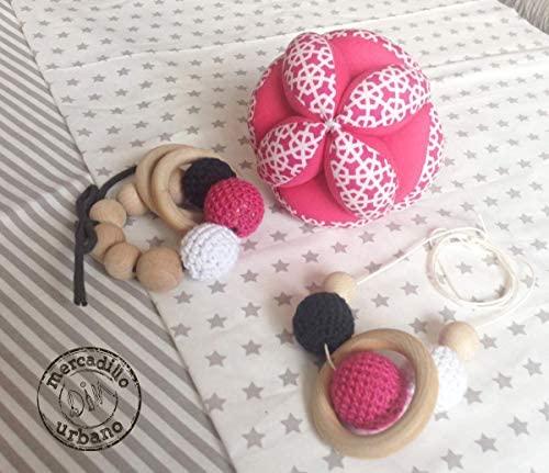 KIT bebé Montessori 3 Regalos para bebés, Pelota para bebés ...