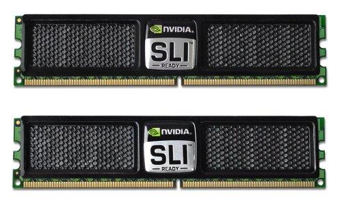 (OCZ OCZ2N800SRC44GK DDR2 PC2-6400 800MHz NVIDIA SLI-Ready Edition 4GB Dual Channel Memory)