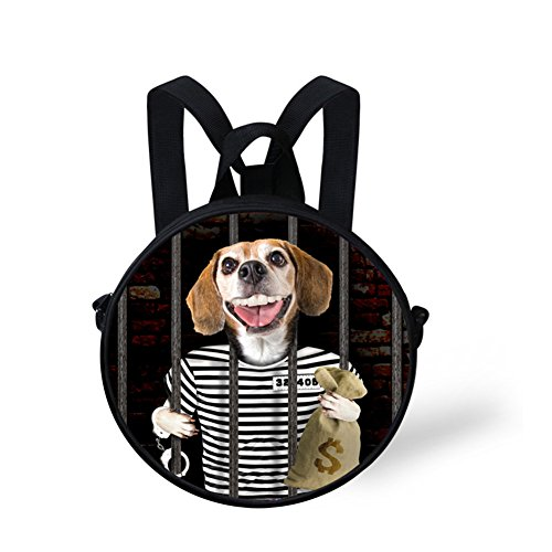 FancyPrint Dfgc0271i Bag Backpack Round Round Shoulder Fashion Women Women Girls and for arqPva4w