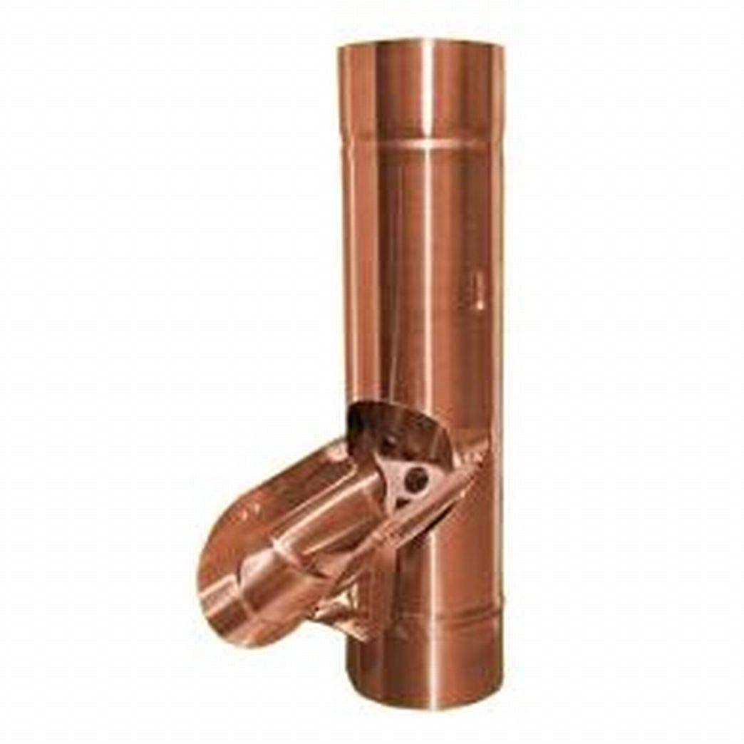 87/e 100/mm in rame Travasatore per tubo pluviale 76 80 dimensioni: 60