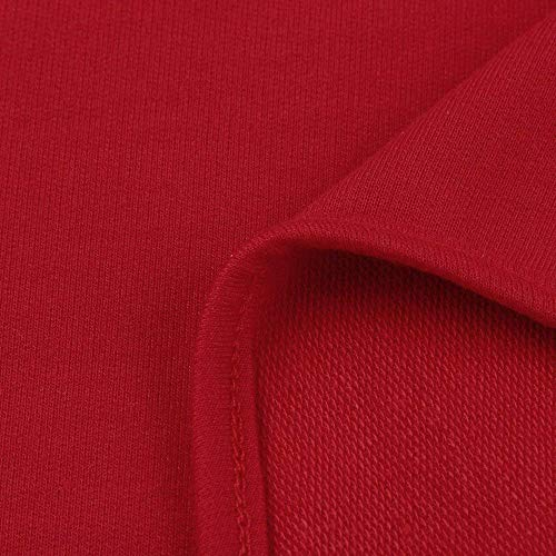 Maglione Donne Alla Red Manica A Felpa Classiche Da Di Scollo 3 Lunga Donna V Moda Natale Elegante Con UgdxZq