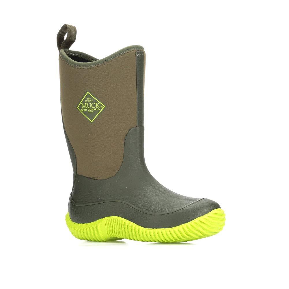 Muck Boot Kid's Hale Green Neoprene Boots 7C