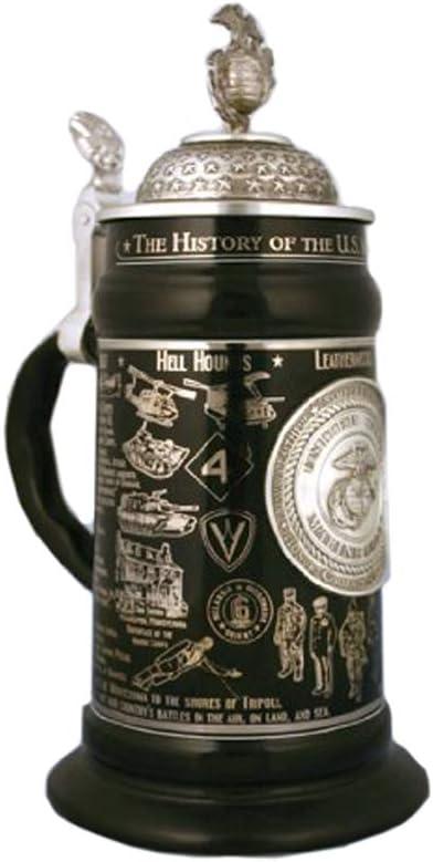 0.75 Liter uns Marine Corps Ceramic Beer Stein durch Oktoberfest Haus