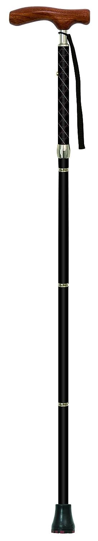 SINANO(シナノ) 折りたたみ杖 カイノス COOL ブラック B01M7NF0R3 ブラック ブラック