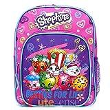 "Mini Backpack - Shopkins - Besties For Life 10"" School Bag New 424458"