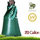 #9: Uclipers Premium Tree Watering Bag, UPGRADED 20 Gallon Slow Release Plant Watering Bag for Tree Dip Irregation, Made of Upgrade Thickened PVC Tarpaulin with Heavy Duty Zipper