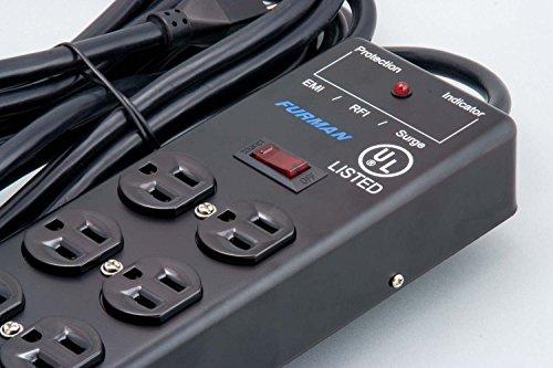 Furman SS6B 6 Plug Surge Protector - Image 2