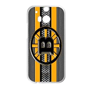 HTC One M8 Phone Case White Boston Bruins ZFC915580